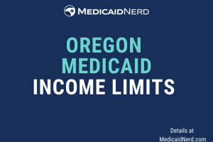 """What are the income limits for Medicaid in Oregon"""
