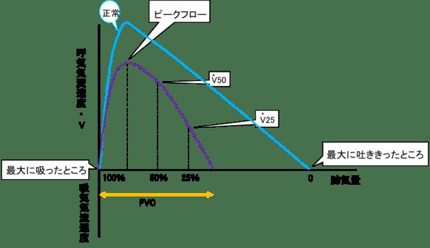 Flow-volume curve 1