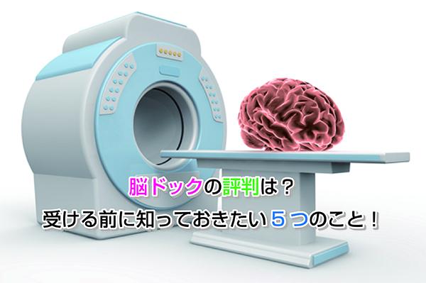 Reputation of the brain dock Eye-catching image