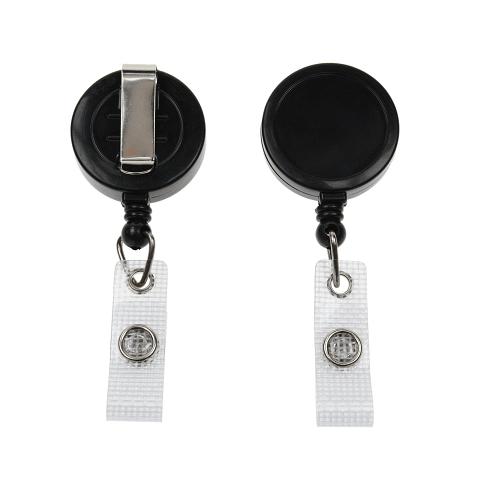 Black Ski YoYo Badge Reel