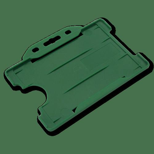 Green Single-Sided Landscape Card Holder