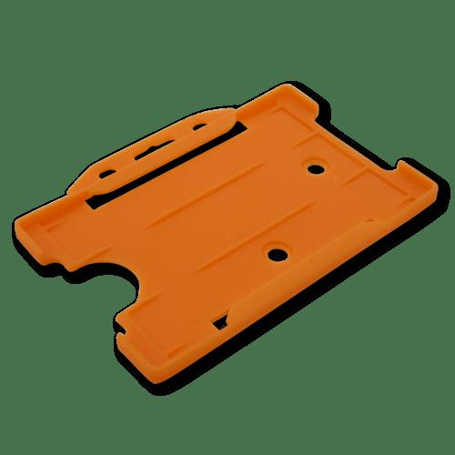 Orange Single-Sided Landscape Card Holder