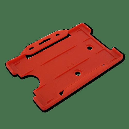 Red Single-Sided Landscape Card Holder