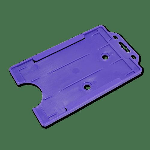 Purple Single-Sided Portrait Card Holder