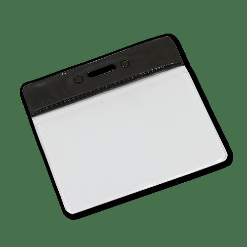 Landscape Vinyl Card Holder - Black
