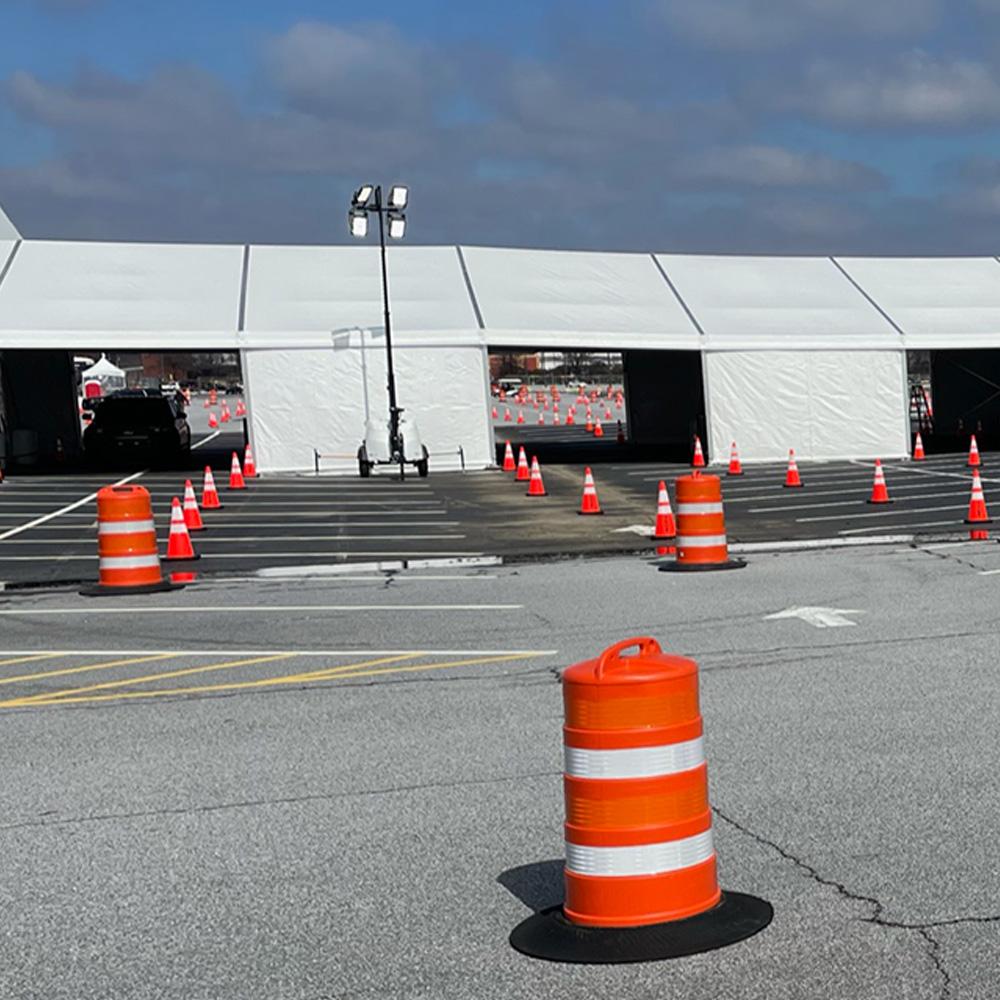 Traffic Cones and Barrels