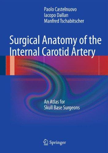 Surgical Anatomy of the Internal Carotid Artery: An Atlas for Skull Base Surgeons