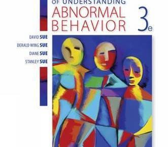 Essentials of Understanding Abnormal Behavior 3rd Edition