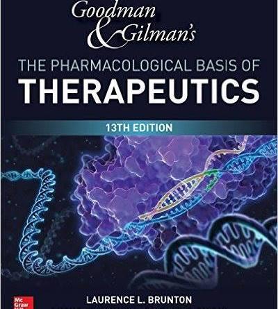 Goodman & Gilman's Pharmacology PDF