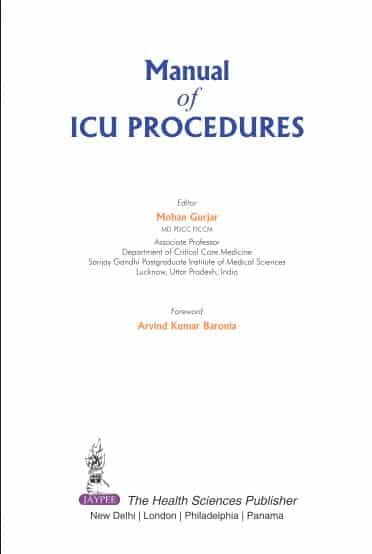 Manual of ICU Procedures (2016)