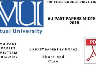 VU Midterm Past Papers