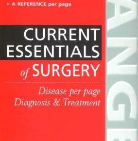 current essentials of surgery pdf