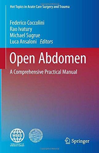 open abdomen a comprehensive practical manual pdf