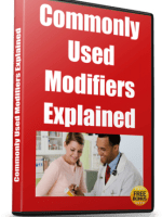 Commonly Used Modifiers Explained