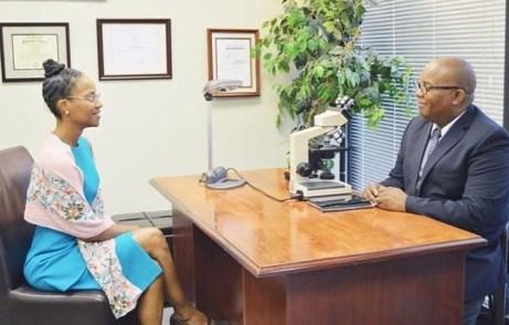 Patient encounter with Dr Gates