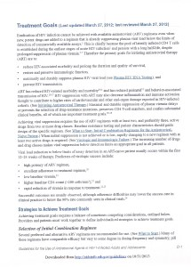 HIV Treatment Goal Page 1