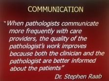 Communication in Laboratory Medicine