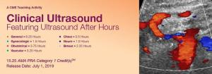 2019 Clinical Ultrasound Featuring Ultrasound After Hours