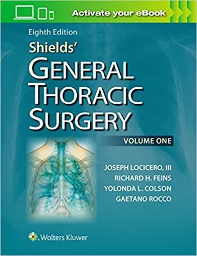 Shields' General Thoracic Surgery 8th Edition EPUB