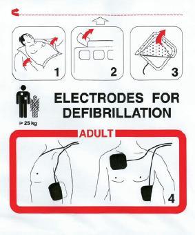 ELECTRODO ADULTO PARA DESFIBRILACION DG5000 FRED EASY SCHILLER – SH0-21-0003