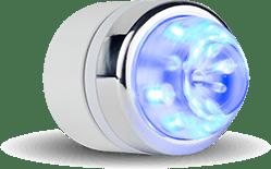 aplicator dermovacuum lumina albastra
