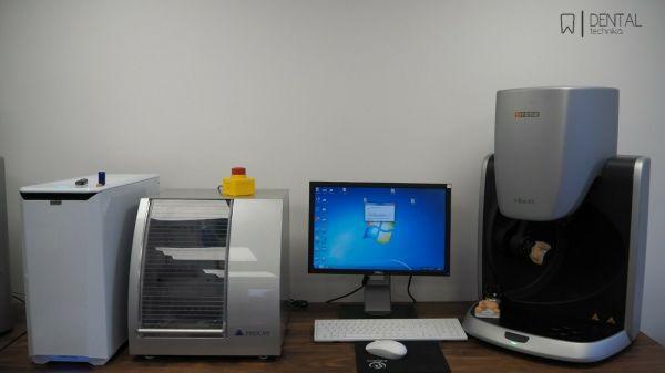 CAD/CAM SYSTEM Sirona inEos X5 + VHF (Finocam)
