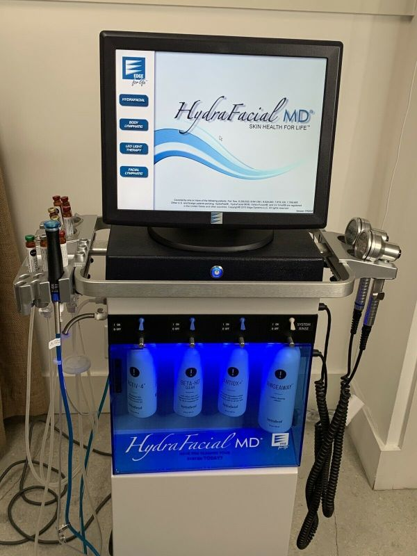 2016 Edge Systems Hydrafacial MD with Perk attachment