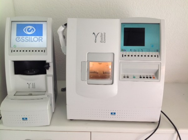 Essilor Gamma Patternless Edger Complete System