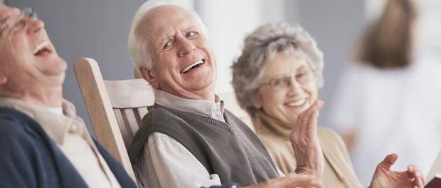 смех, головной мозг, пожилые люди