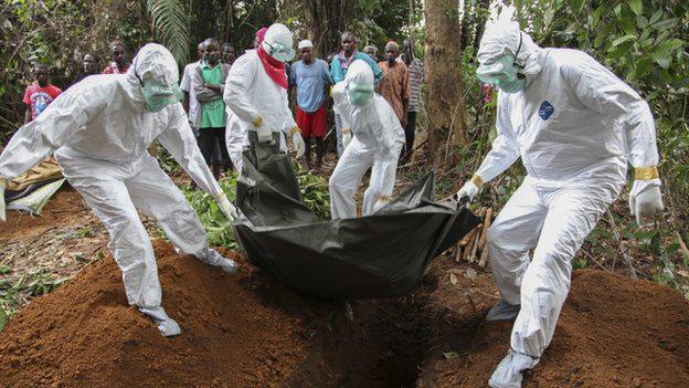 ВОЗ, Либерия, вирус Эбола