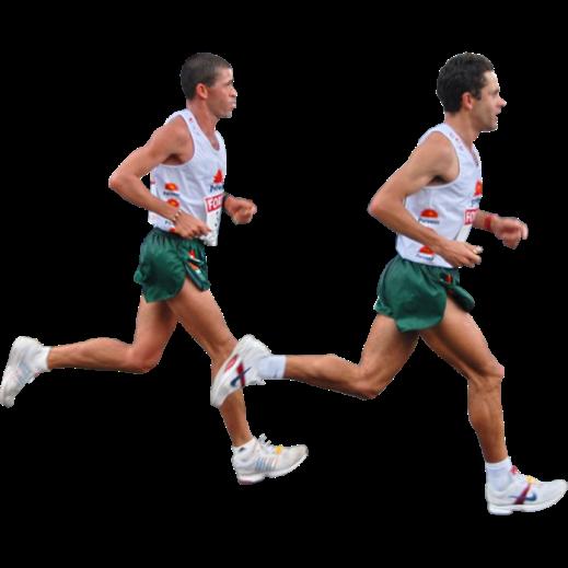 бег, марафон