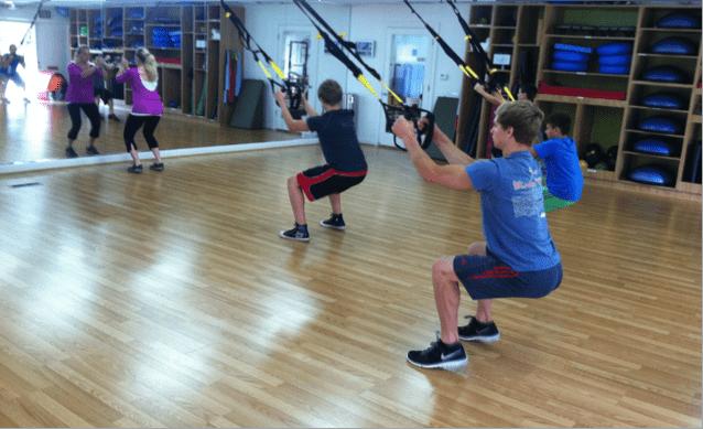 подростки, упражнения