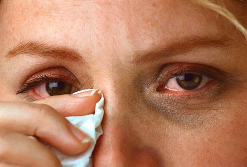 виды аллергии, куриная слепота