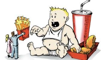 мультфильмы, дети, ожирение