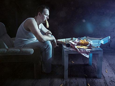 сон, еда, ожирение