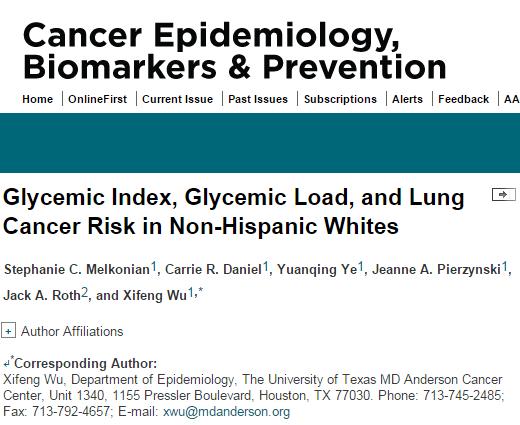 гликемический индекс, Cancer Epidemiology Biomarkers & Prevention, белый хлеб, диабет, картофель, чечевица, рак,