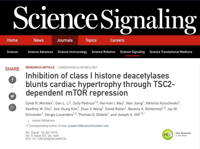 рак, фермент, Science signaling