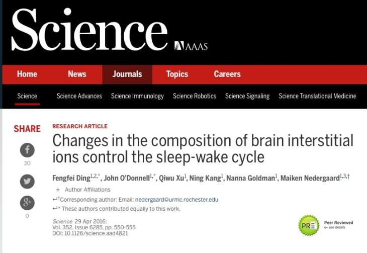 ионы, сон, Science