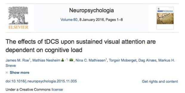 Neuropsychologia, магнитная стимуляция