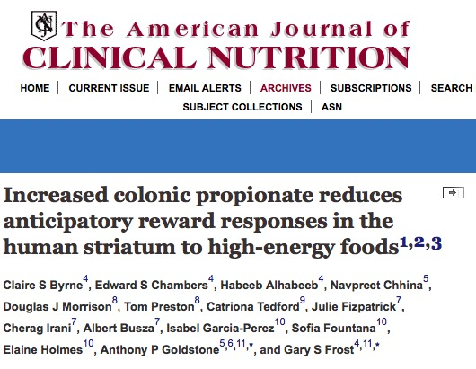 фаст-фуд, The American Journal of Clinical Nutrition