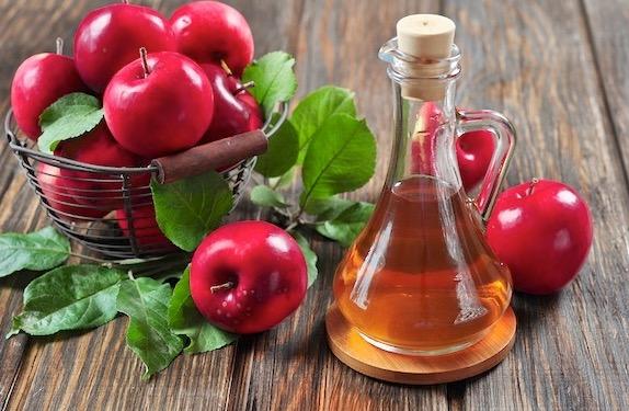 псориаз, яблочный уксус,