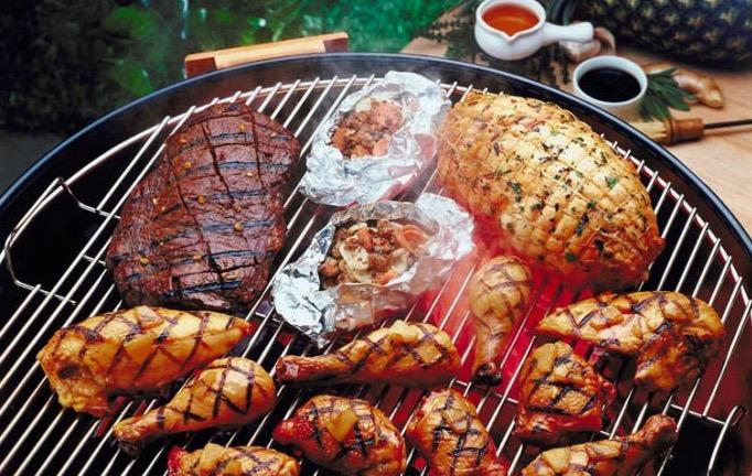 Мясо, гриль, рак молочной железы, женщины