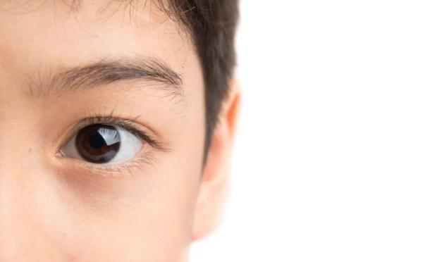 мягкие контактные линзы, дети