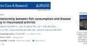 рыба, ревматоидный артрит