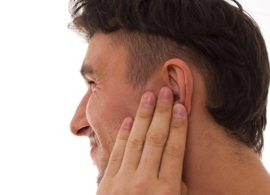 ушная инфекция, отит, взрослые