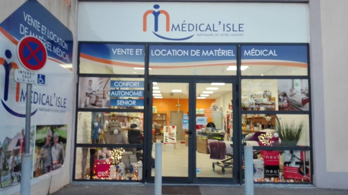 magasin location vente matériel médical apt