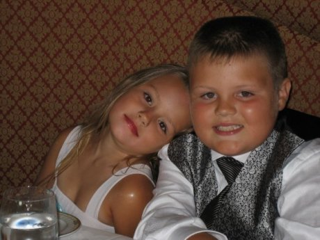 Justis and Kayleigh