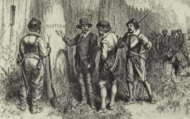 Croatoan illustration