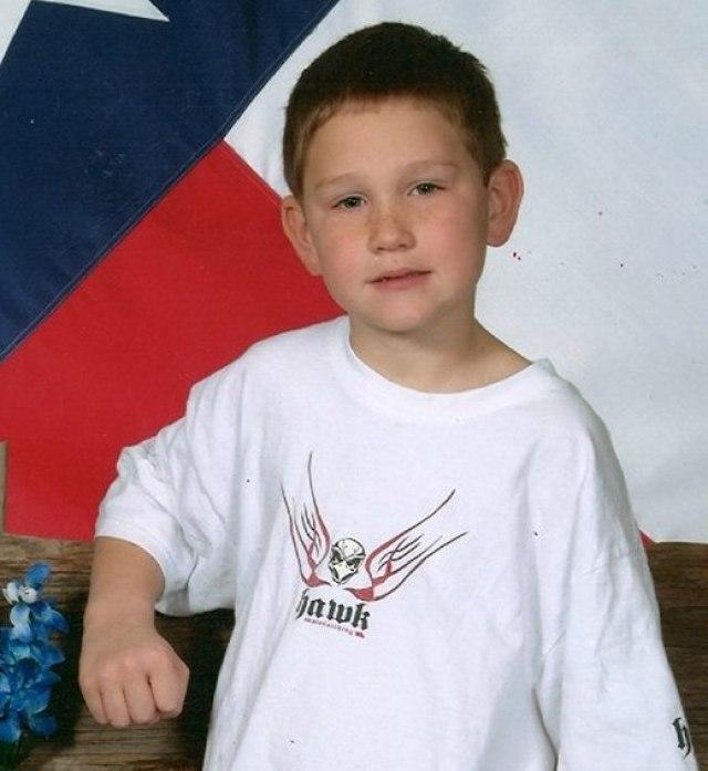 Mitchell Samuel in TX school