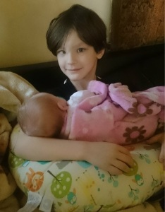 Camden and baby sister